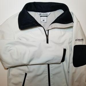 Columbia Titanium White Ivory SoftShell Jacket
